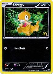 Scraggy - 10/12 - McDonald's Promo 2012 on Channel Fireball
