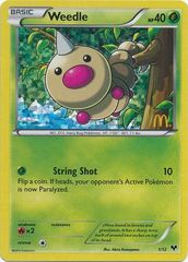 Weedle - 1/12 - McDonald's Promo 2014 on Channel Fireball