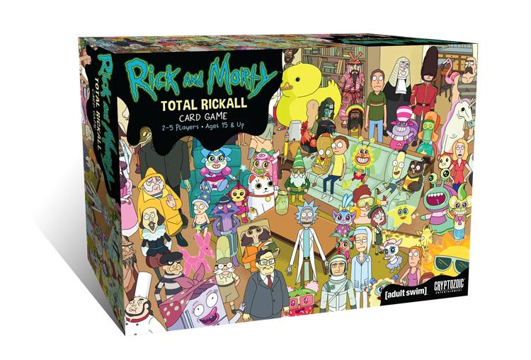 Rick and Morty - Total Rickall Card Game