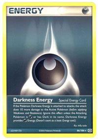 Darkness Energy - 86/106 86 - Rare
