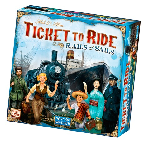 Ticket to Ride - Rails & Sails