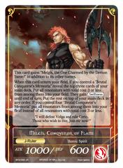 Memoria of the Seven Lands // Melgis, Conqueror of Flame - BFA-092 - R - Full Art