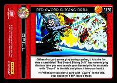 Red Sword Slicing Drill - R120