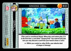 Singing Drill - R131
