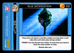 Blue Intimidation - C12 - Foil on Channel Fireball