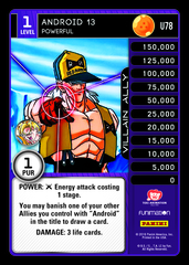 Android 13 - Powerful - U78 - Foil
