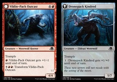 Vildin-Pack Outcast // Dronepack Kindred