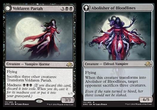 Voldaren Pariah // Abolisher of Bloodlines
