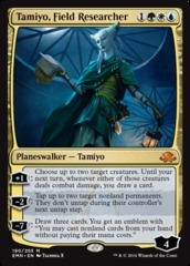 Tamiyo, Field Researcher on Channel Fireball