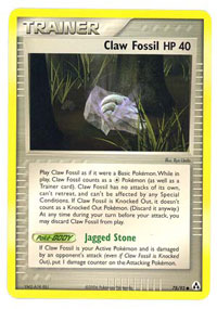 Claw Fossil - 78/92 - Common