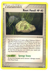 Root Fossil - 80/92 - Common