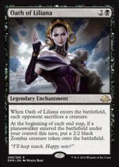 Oath of Liliana on Channel Fireball