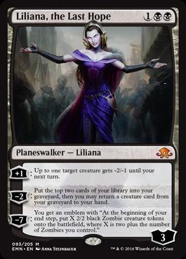Liliana, the Last Hope - Foil