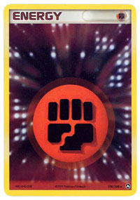 Fighting Energy - 108/108 - Rare Holo