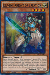 Dragon Knight of Creation - SR02-EN002 - Super Rare - 1st Edition on Channel Fireball