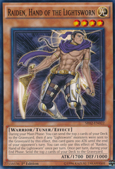 Raiden, Hand of the Lightsworn - SR02-EN022 - Common - 1st Edition