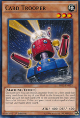 Card Trooper - SR02-EN023 - Common - 1st Edition
