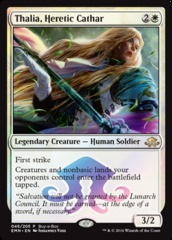 Thalia, Heretic Cathar (Eldritch Moon Buy-a-Box Promo)