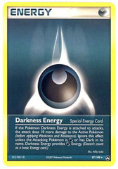 Darkness Energy - 87/108 - Rare on Channel Fireball