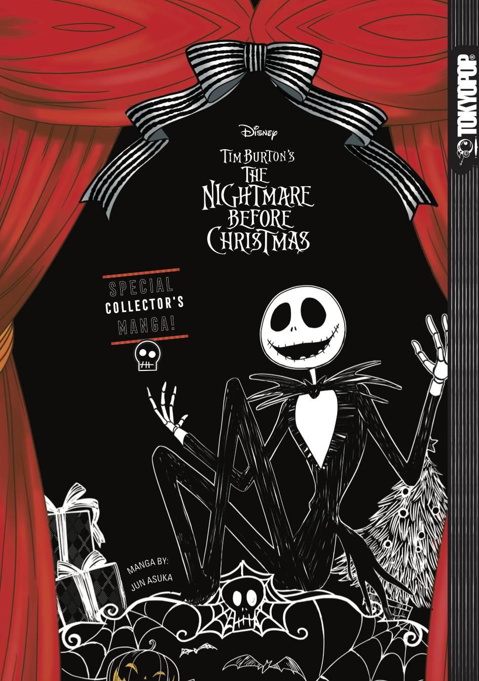 Disney Manga Nightmare Before Christmas Hc Ltd Ed - Graphic Novels ...