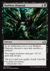 Ruthless Disposal - Foil