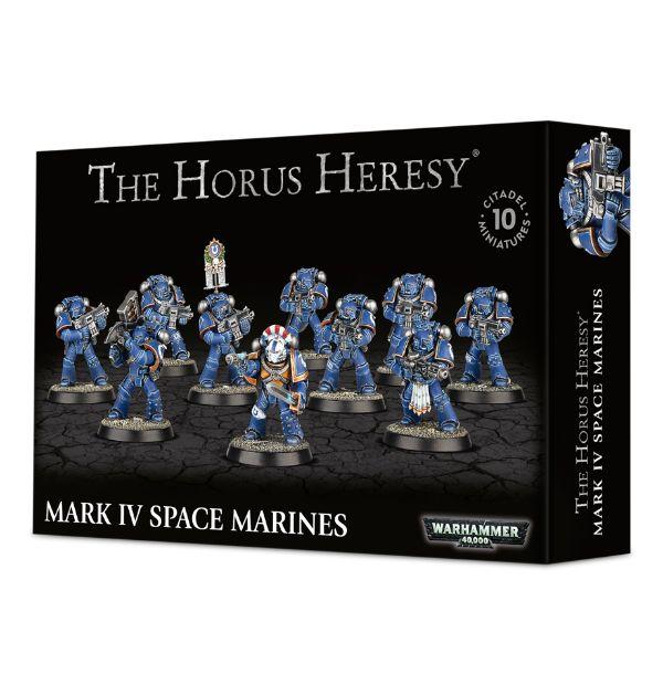 The Horus Heresy - Mark IV Space Marines
