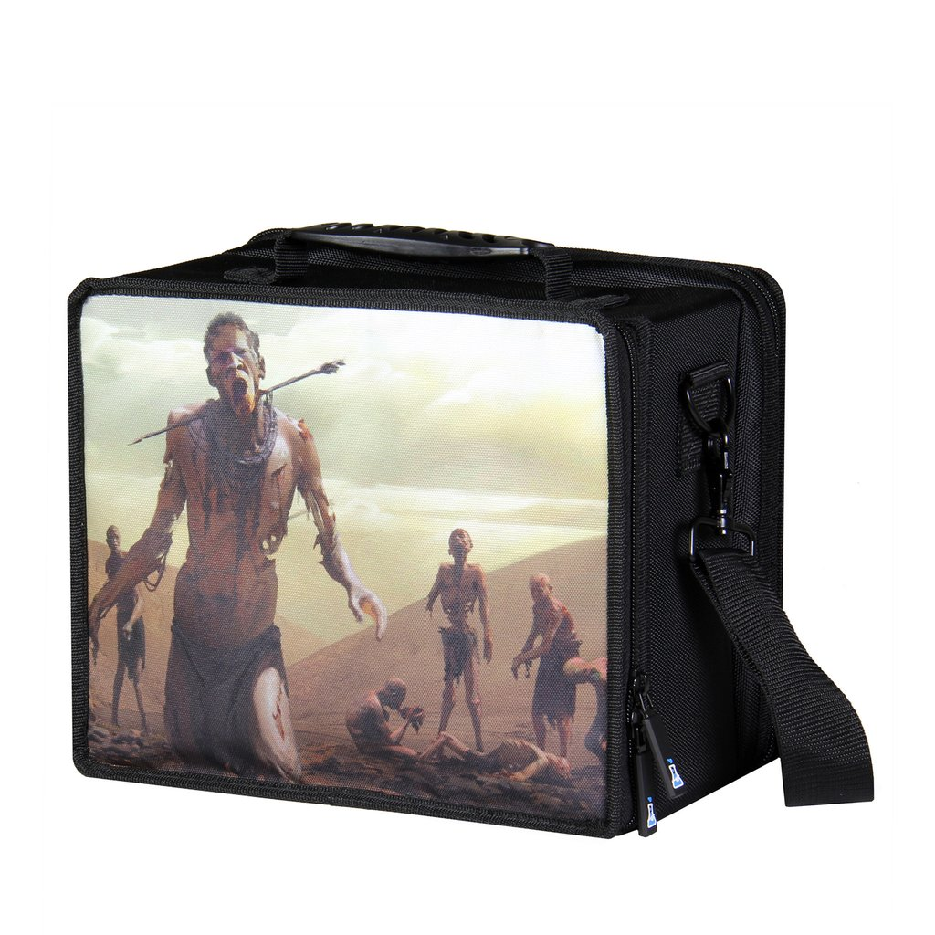 Pirate Lab Small Card Case - Black Zombie