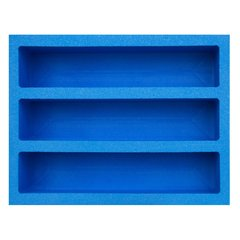 Pirate Lab Collectible Card Foam: Large - 3-Row Max Capacity Tray (w/ 8 dividers)