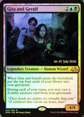 Gisa and Geralf - Foil - Prerelease Promo