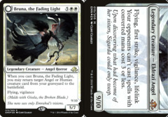 Bruna, the Fading Light // Brisela, Voice of Nightmares - Foil - Prerelease Promo