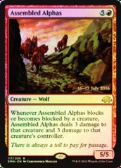 Assembled Alphas (Eldritch Moon Prerelease Foil 16-17 July 2016)