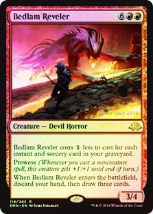 Bedlam Reveler (Eldritch Moon Prerelease Foil)