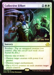 Collective Effort - Foil - Prerelease Promo