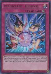 Magicians' Defense - MVP1-EN028 - Ultra Rare - 1st Edition on Channel Fireball