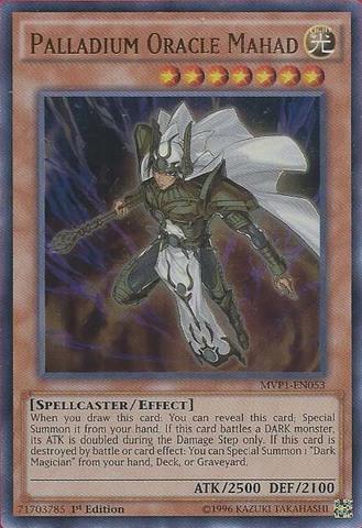 Palladium Oracle Mahad MVP1-EN053 1st Ultra Rare NM Yugioh Card