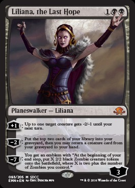 Liliana, the Last Hope SDCC 2016 EXCLUSIVE - Foil