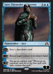 Jace, Unraveler of Secrets - SDCC 2016 Exclusive Promo