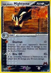 Team Magma's Mightyena - 21/95 - Rare