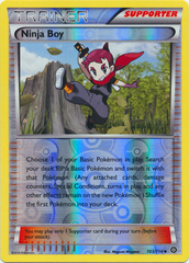 Ninja Boy - 103/114 - Uncommon - Reverse Holo