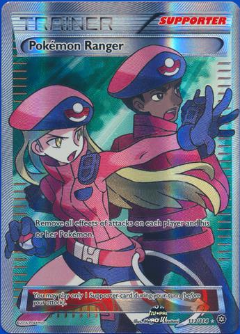 Pokemon Ranger - 113/114 - Full Art Ultra Rare