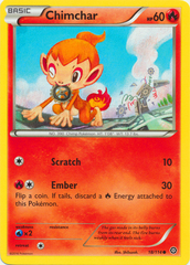Chimchar - 18/114 - Common on Channel Fireball