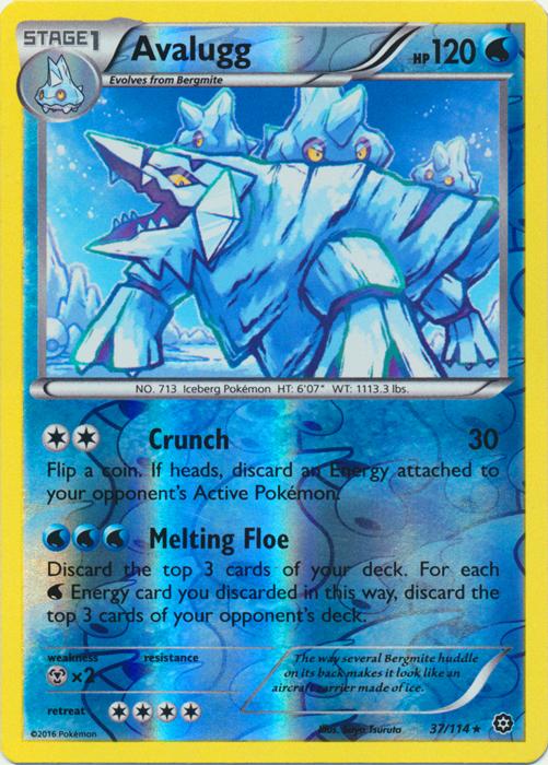 Fletchinder 95//114 Steam Siege Reverse Holo Mint Pokemon Card