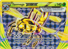 Yanmega BREAK - 8/114 - Rare BREAK