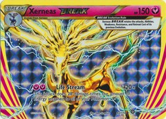 Xerneas BREAK - 82/114 - Rare BREAK