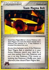 Team Magma Belt - 81/95 - Uncommon