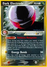 Dark Electrode - 4/109 - Holo Rare