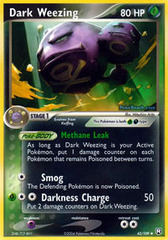Dark Weezing - 42/109 - Uncommon on Channel Fireball