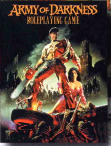 Army of Darkness RPG Core Rules (Hardcover)