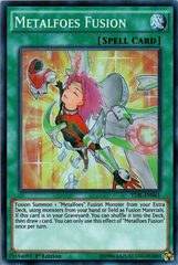 Metalfoes Fusion - TDIL-EN061 - Super Rare - 1st Edition