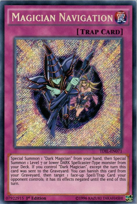 Magician Navigation - TDIL-EN071 - Secret Rare - 1st Edition